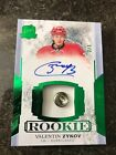 2017-18 The Cup Valentin Zykov Rookie Auto/ Button 2/3!