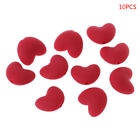 10 Pcs Food Grade Silicone Beads DIY Baby Pacifier Teether Necklace Heart Shape