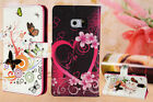 Luxury Leather Magnetic Flip Wallet  Cover for All iPhone with Butterfly Design