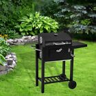 Outdoor Charcoal BBQ Grill Portable Garden Barbecue Smoker Cooking Patio Party