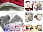 Empire Home Queen Size Sherpa Reversible Fur Winter Blanket - NEW ARRIVAL SALE image