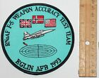 USAF UNITED STATES AIR FORCE EGLIN AFB RNoAF F-5 Weapon Accuracy Test Team patch