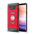 Luxury Armor Shockproof Magnetic Card Slot Case Cover For Samsung Galaxy Models  <br/> For Galaxy S8 / S9 Plus / S7E / Note 8 / 9 / A8 / A5