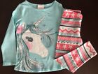 Внешний вид - NWT Gymboree Girl Enchanted Winter Unicorn Tee & Leggings Outfit 5 6 7