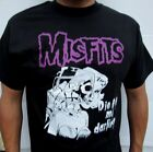 MISFITS DIE DIE MY DARLING PUNK ROCK T SHIRT MEN'S SIZES image