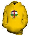 CENTRAL AFRICAN REPUBLIC FOOTBALL UNISEX HOODIE TOP GIFT WORLD CUP SPORT