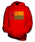 GUINEA BISSAU SCRIBBLE FLAG UNISEX HOODIE TOP GIFT GUINÉ-BISSAU GUINEAN