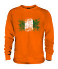 NIGERIA DISTRESSED FLAG UNISEX SWEATER TOP NIGERIAN SHIRT FOOTBALL JERSEY GIFT