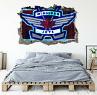 Winnipeg Jets Wall Art Decal Hockey Team 3D Smashed Wall Decor WL65 $36.95 USD on eBay