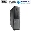 Dell Desktop Computer PC Intel Windows 10 WIFI Dual LCD Monitor 17&quot;/19&quot; <br/> Excellent Condition! Fast Shipping!