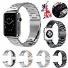 Stainless Steel Watch Strap Band For Apple Watch Series 3 2 1 iWatch 38/42mm UK