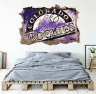 Colorado Rockies Wall Art Decal MLB Baseball Team 3D Smashed Wall Decor WL73 on Ebay