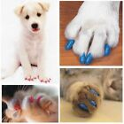 Colorful Soft Rubber Dogs Cats Kitten Paw Control Claws Care Supplies 20 Pcs