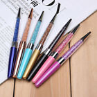 New Luxury Bling Metal Rhinestone Crystal Ballpoint Pen Stationery Writting Pens