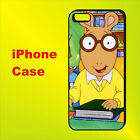 Arthur American Anime Cartoon TV Series Case iPhone 5s 5c 6+ 6s+ se 7 8 X #T