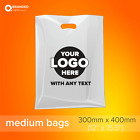 Personalized Custom Printed Plastic Carrier Bags