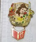 PRINCESS BELLE with Cogsworth and Lumiere, Book Dangle,  Beauth and the beast, R