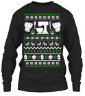Custom-made Christmas Sweater Baking Ugly Gildan Gildan Long Sleeve Tee T-Shirt