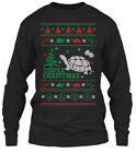 Latest Christmas Sweater Turtle Ugly Gildan Long Gildan Long Sleeve Tee T-Shirt