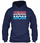 Luxembourger Mom Luxembourg Mother Gildan Hoodie Sweatshirt