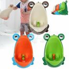 Kids Baby Toddler Boy Frog Potty Urinal Pee Toilet Travel Home Training SY