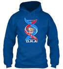 Democratic Republic Of The Congo Dna Gif Gildan Hoodie Sweatshirt
