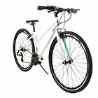 ZF Bikes - Transit Women - White Hybrid Bike