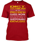 Diet Technician We Do Precision Guess Work Hanes Tagless Tee T-Shirt