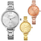 Fashion Women Girl Watch Small Stainless Steel Band Analog Quartz Wrist Watches image