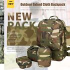 50L Hiking Camping Bag Army Military Tactical Trekking Rucksack Backpack Camo T@