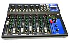 MIXER AUDIO PROFESSIONALE 4/7 CANALI USB CON ECHO-DELAY dj karaoke pianobar