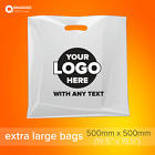 Custom Printed Plastic Carrier Bags Goody Bags with logo