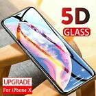 3D Curved Full Cover Tempered Glass Screen Protector For iPhone 8 8+ 7 7+ 6/6S