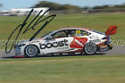 "JAMES COURTNEY / MOBIL 1 BOOST MOBILE RACING  HOLDEN ""SIGNED"" ORIGINAL PHOTO"
