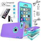 Hard Back ShockProof Hybrid Phone Case Cover iPhone 5s 6s 6 Plus + Accessories