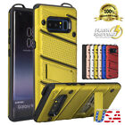 For Galaxy Note 9 8 Military Grade Kickstand Shockproof Rugged Armor Case Cover