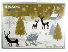 2018 Hershey's Kisses Milk Chocolate Christmas Advent Countdown Calendar with...