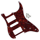 3Ply 4Ply HSH Humbucker Strat Guitar Pickguard Scratch Plate 11 Holes 10 Colors