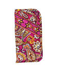 American Made, Quilted Fabric Accessory, Double Eyeglass Case by Stephanie Dawn