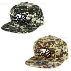 California Republic hat Classic Bear Military Digital camo Snapback Baseball cap
