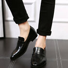 Mens Business Shoes Slip on Loafers Formal Dress Shoes Size 48 for Wedding Party