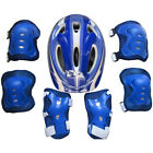 Boys & Girls Kids Skate Cycling Bike Safety Helmet Knee Elbow Pad Set UK