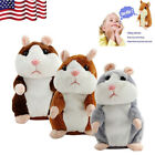 US Talking Hamster Mimicry Pet Plush Toy Kids Speak Talking Sound Record Toy