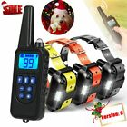 875 Yards 1/2/3 Dog Shock Collar Remote Control Waterproof Electric Pet Training