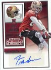 2015 PANINI CONTENDERS ROOKIE RC AUTO  DRES ANDERSON 49ERS