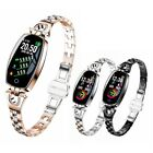 Women Smart Watch Calories Fitness Tracker Blood Pressure Monitor Lady Xmas Gift