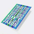 Personalised Thank You Cards  Girl Boy Children's Kids Folded or Flat Envelopes