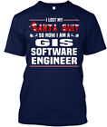 Comfortable Gis Software Engineer - I Lost Santa Suit Hanes Tagless Tee T-Shirt