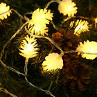 20 LED Clearance Nordic Natale PINECONE Stringa di luci LED Decorazione