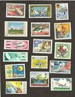 Mongilia Vintage lot#2  Big Stamps Animals Space Airmails some Rare